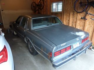 1986 Chevrolet Caprice Classic Sedan 4 - Door 4.  3l photo