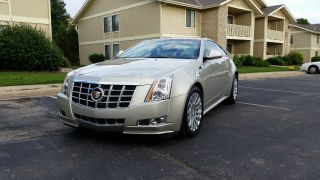 2013 Cadillac Cts Premium Coupe 2 - Door 3.  6l photo