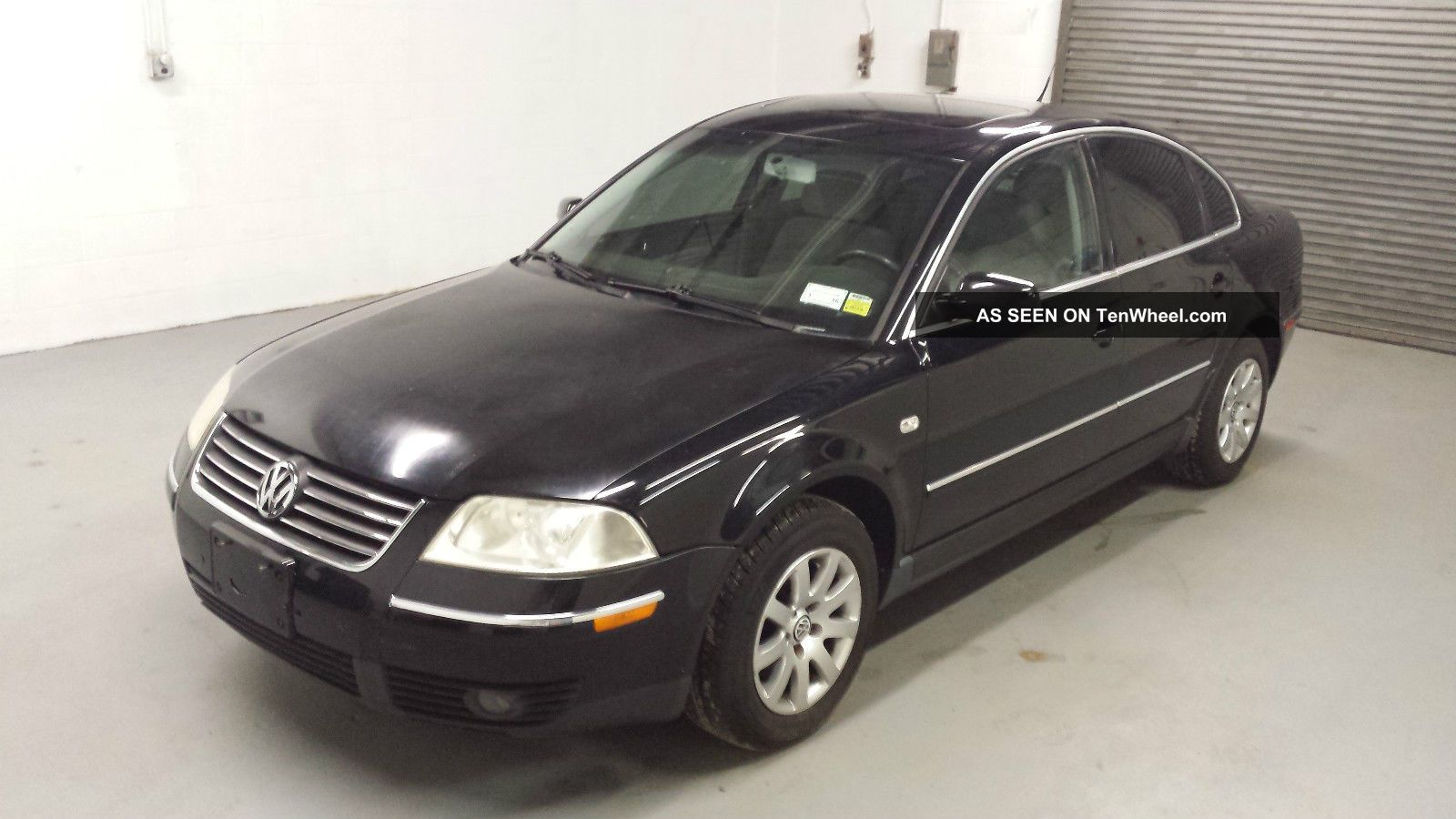 2002 Volkswagen Passat 4dsd,  113k,  4 Cyl,  Title Passat photo