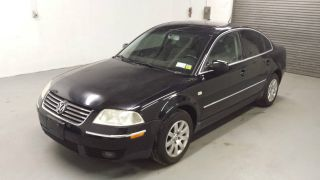 2002 Volkswagen Passat 4dsd,  113k,  4 Cyl,  Title photo