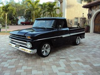 1966 Chevy C / 10 Resto Mod Pro Touring Pro Street Bbc 427 Foose Wheels photo