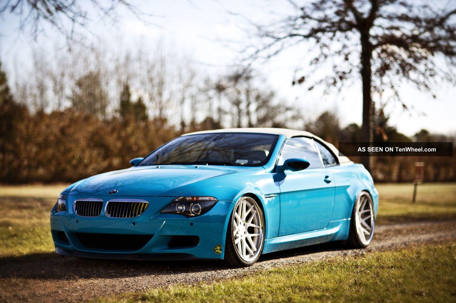 2007 Bmw M6 Convertible Custom Show Car Choose Your Color