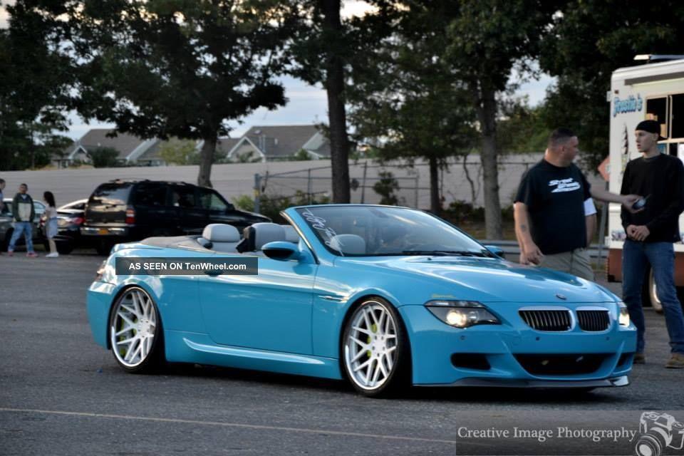 2007 Bmw M6 Convertible Custom Show Car Choose Your Color M6 Photo 2