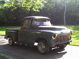 1955 Chevrolet Pickup,  Patina Truck,  Rat Rod Truck,  Shop Truck,  Patina Paint Truck photo