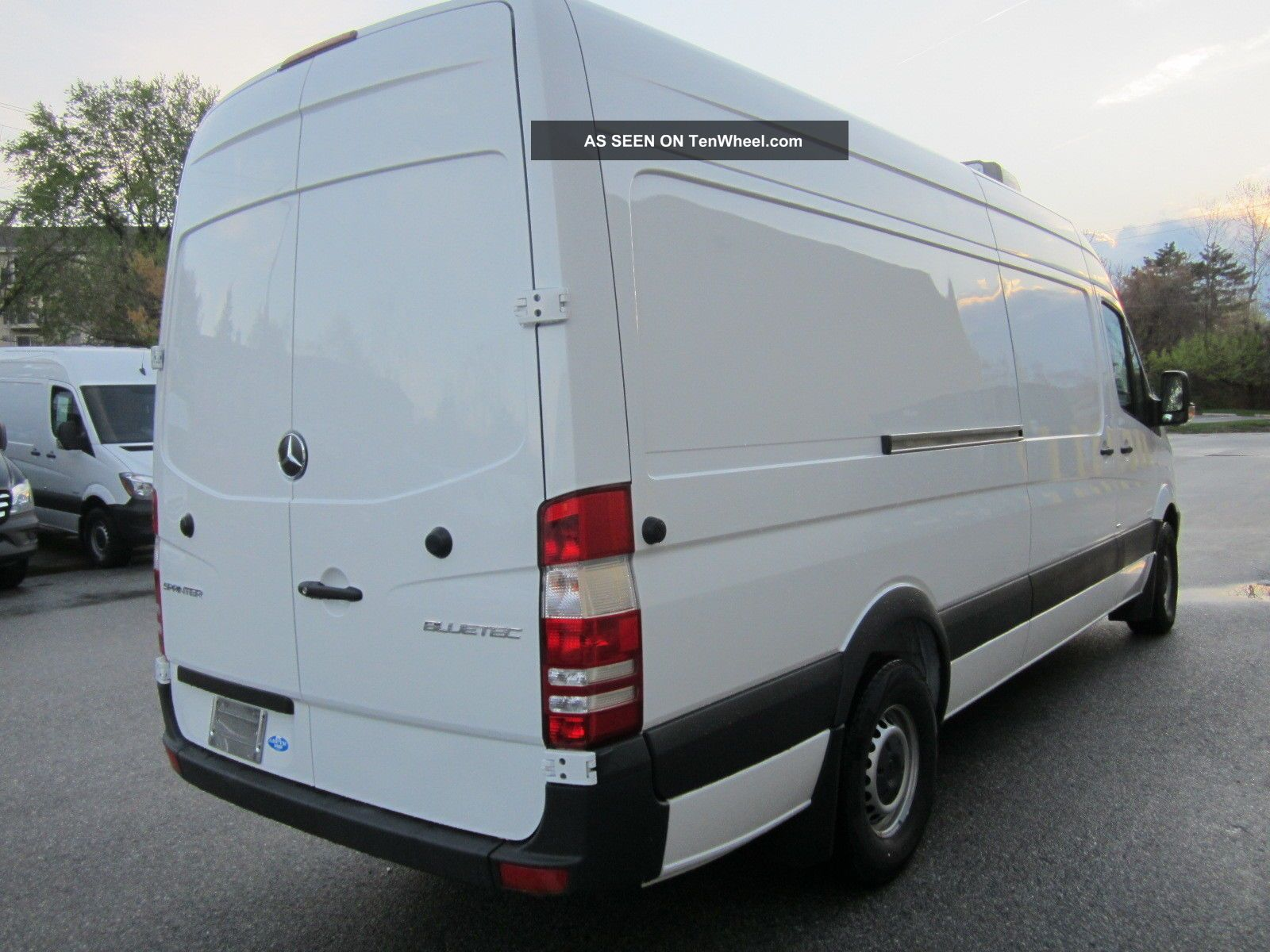 2014 mercedes benz sprinter 170 wb refrigerated van. Black Bedroom Furniture Sets. Home Design Ideas