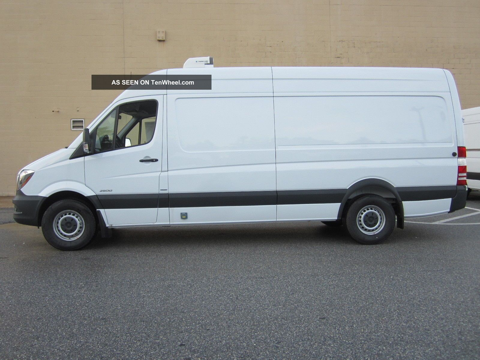 2014 mercedes benz sprinter 170 wb refrigerated van