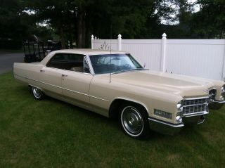 1966 Cadillac Calais Base Hardtop 4door 7.  0l Power Windows And Seats All Orig. photo