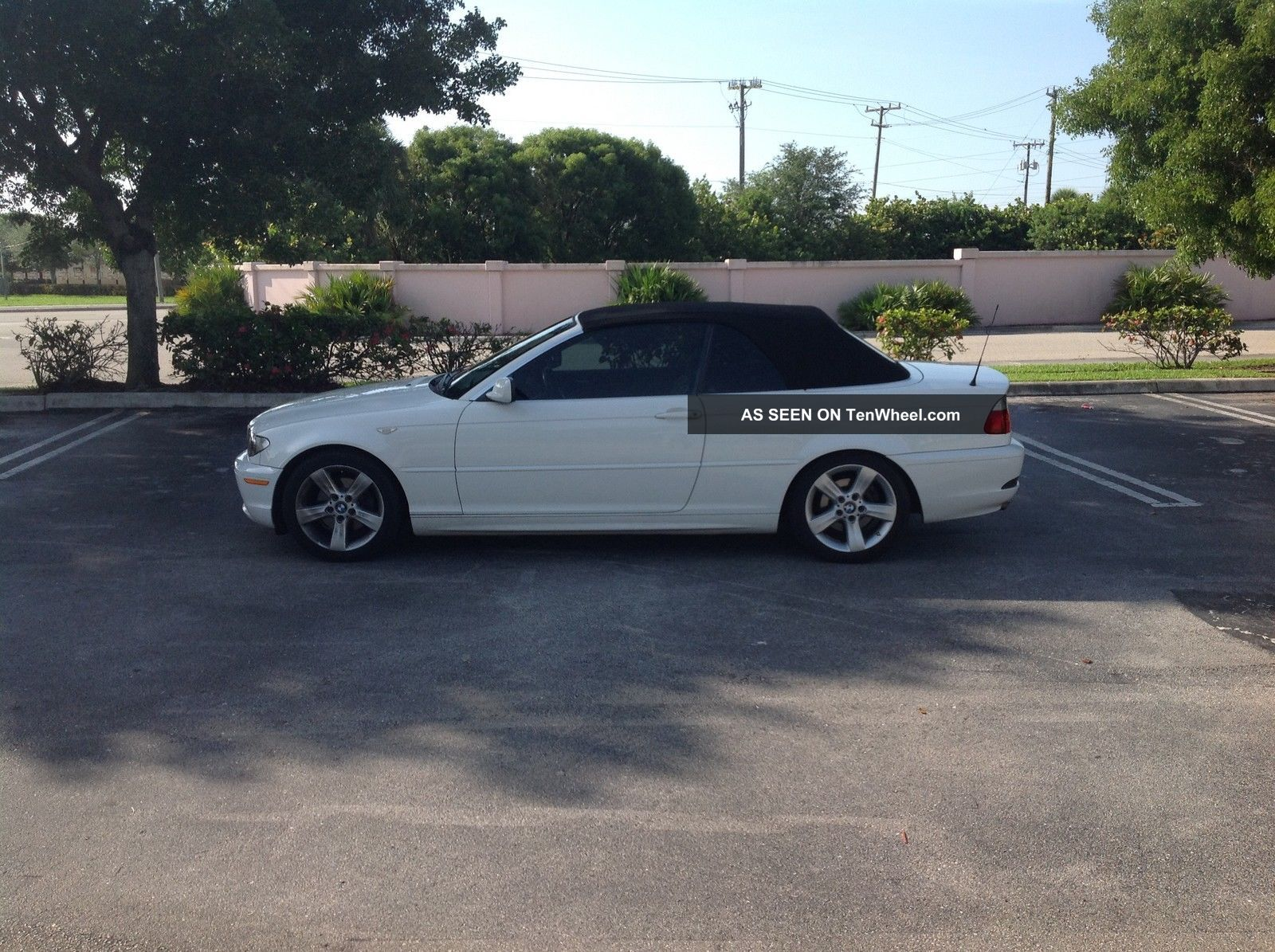 2006 Pristine Bmw 325cic.  Garage Kept Fully Loaded Convertible.  This Won ' T Last 3-Series photo