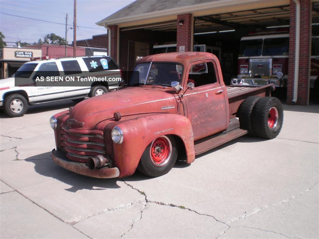 1952 chevrolet rat rod truck