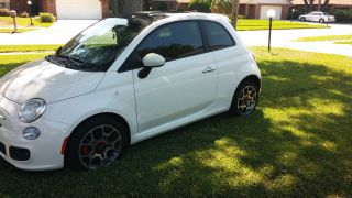 Garage Kept 2012 Fiat 500 Sport Auto With Moon Roof photo