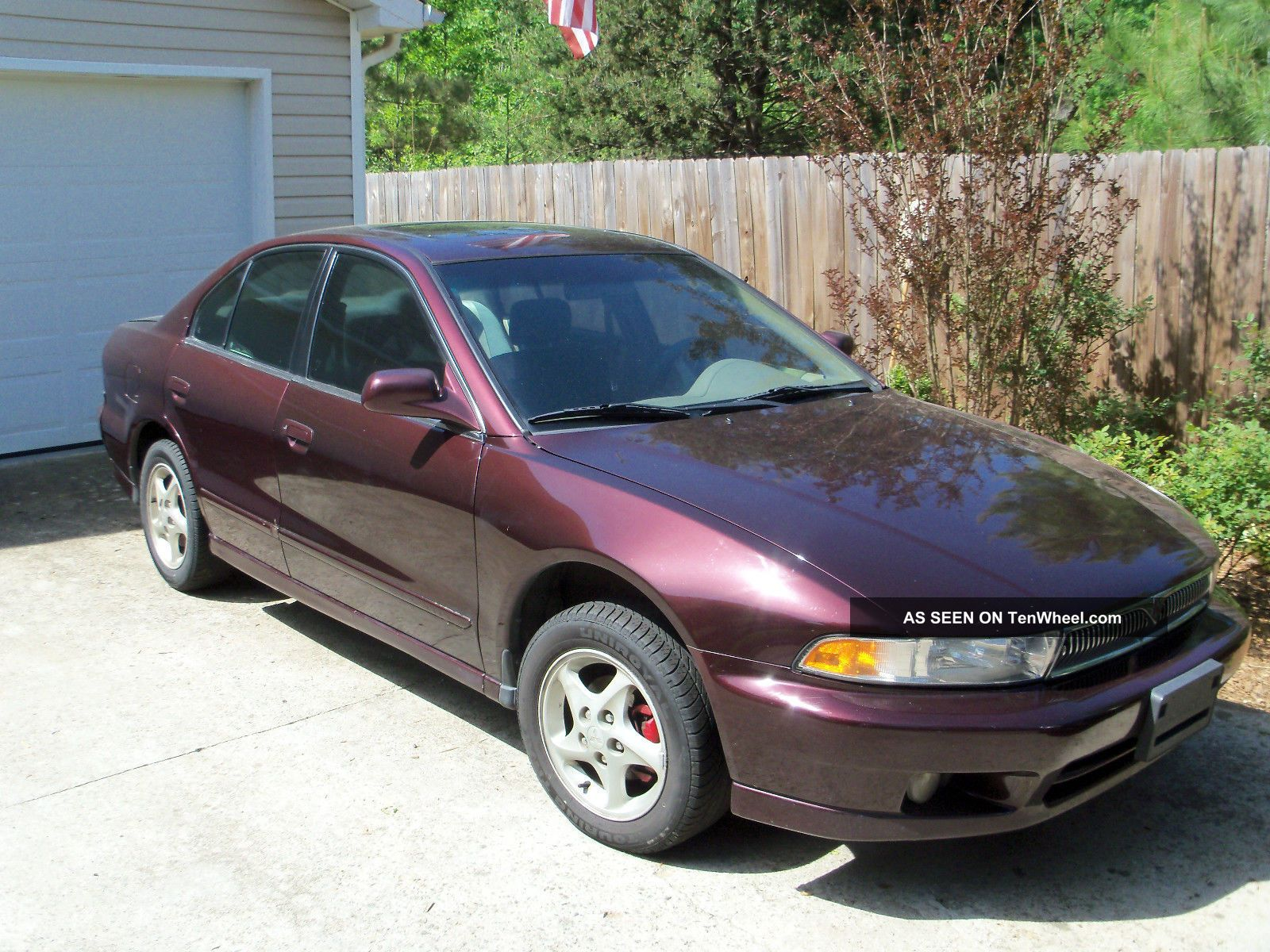 Mitsubishi Galant Es Sedan 1999 4 - Door 2.  4l Galant photo