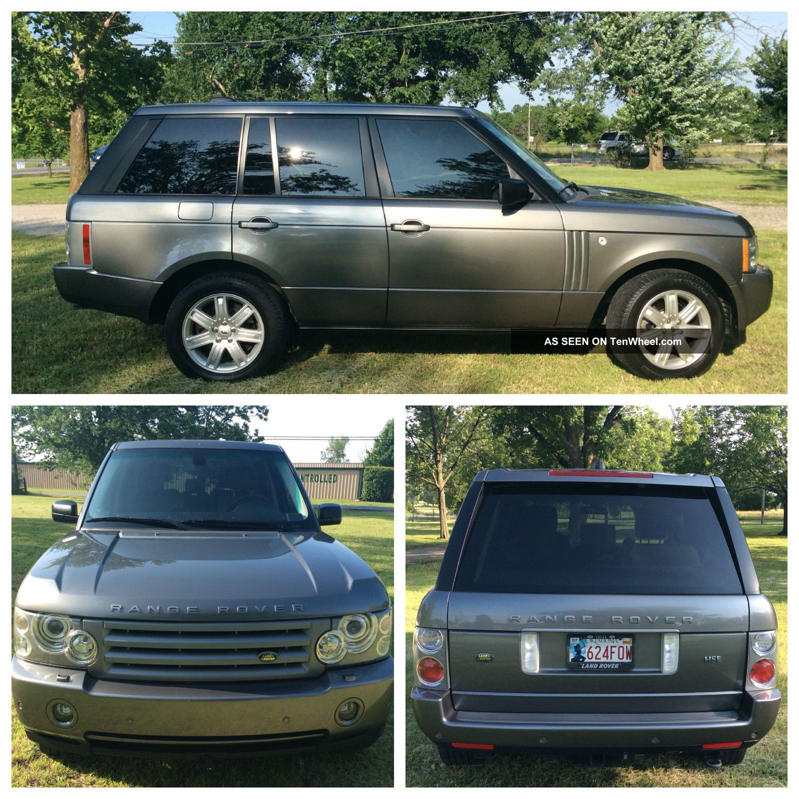 2008 Range Rover Hse With Luxury Package Range Rover photo
