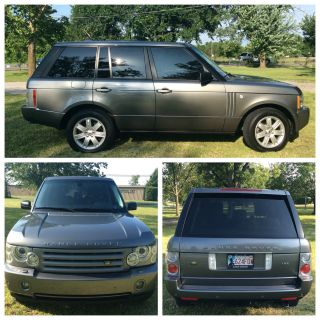 2008 Range Rover Hse With Luxury Package photo