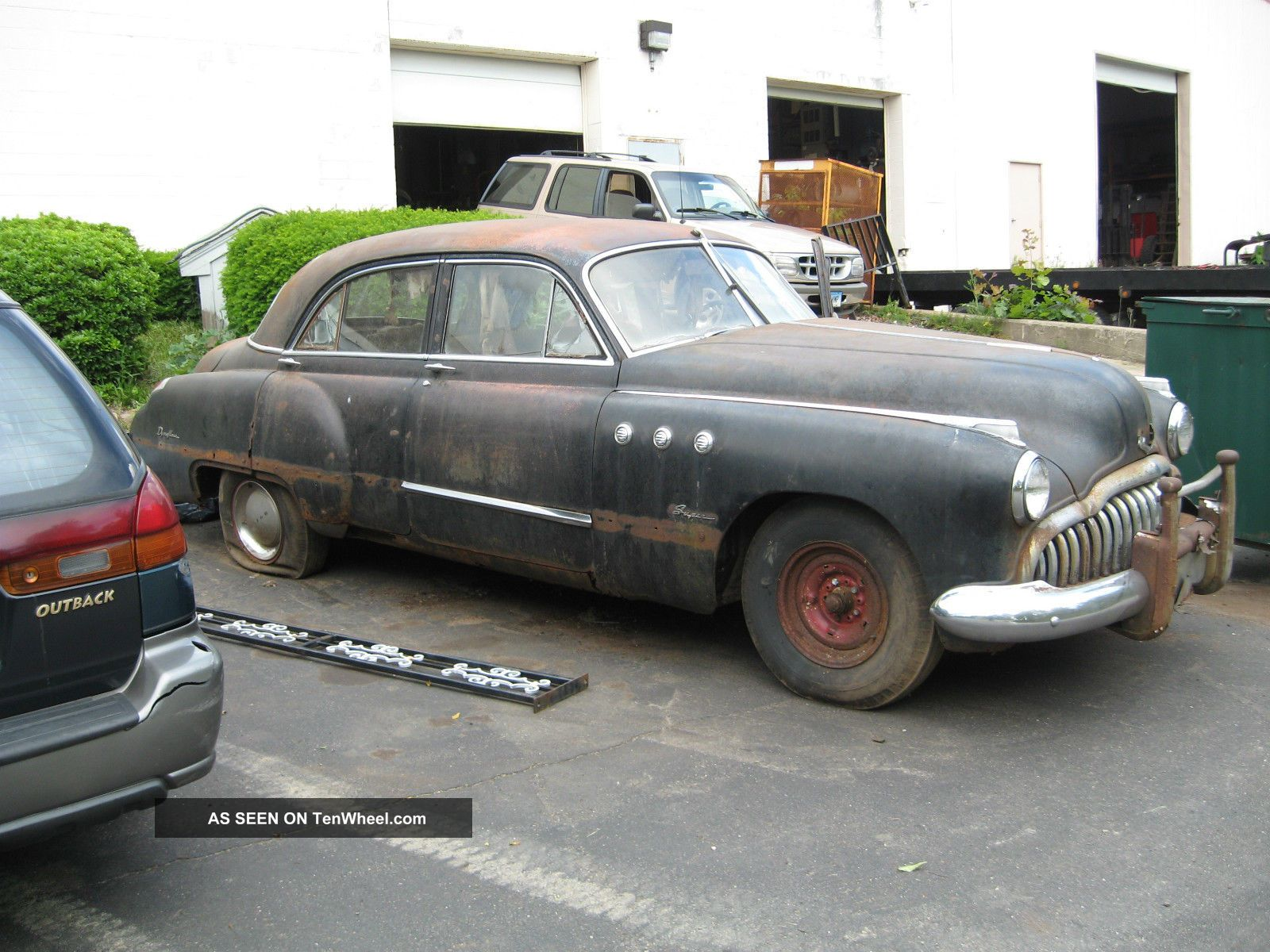 Us $1800.  00 1949 Buick 4 Door For Restoration Other photo
