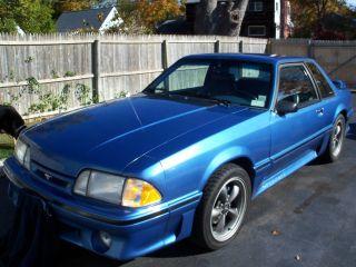 1989 Mustang photo