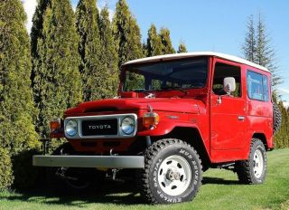 1980 Toyota Land Cruiser Base Sport Utility 2 - Door 4.  2l photo