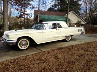 1960 Thunderbird 352 V8 Two Door Beauty - Easy Restoration Project photo