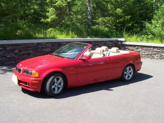 2002 Bmw 325ci Convertible 2 - Door 2.  5l photo