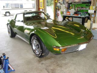 1972 Corvette Coupe,  45k Mile Unmolested 350 / 4speed Ps Ac photo