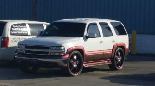 Custom 2001 Chevy Tahoe 4×4 Everyday Driver,  Show Truck,  Aluminum,  Low Rider photo