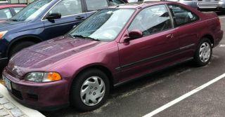 1994 Honda Civic Coupe Ex photo