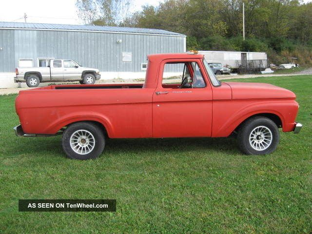 1962 Ford Unibody Truck