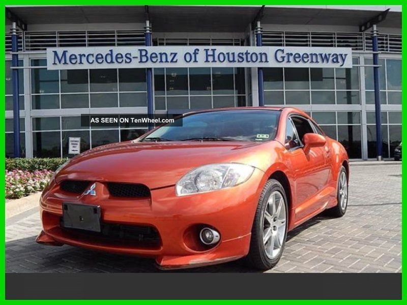 2006 Gt 3.  8l V6 24v Automatic Front Wheel Drive Coupe Premium Eclipse photo