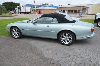 2002 Jaguar Xk8 Base Convertible 2 - Door 4.  0l photo
