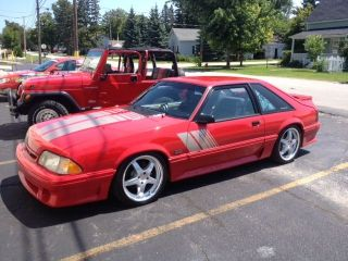 1991 Ford Mustang Gt Hatchback 2 - Door 5.  0l photo