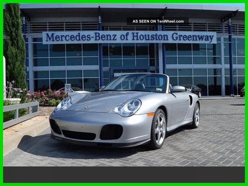 2005 Turbo S Turbo 3.  6l H6 24v Automatic All Wheel Drive Convertible Bose 911 photo
