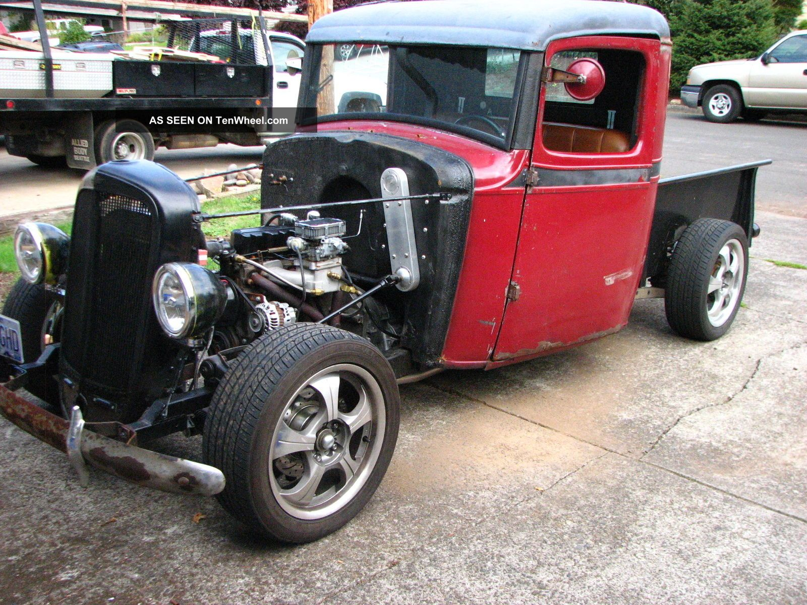 Rat Rod 1935 Chevy Pickup Truck Runs Drives Mechanical Other Pickups photo
