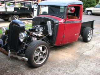 Rat Rod 1935 Chevy Pickup Truck Runs Drives Mechanical photo