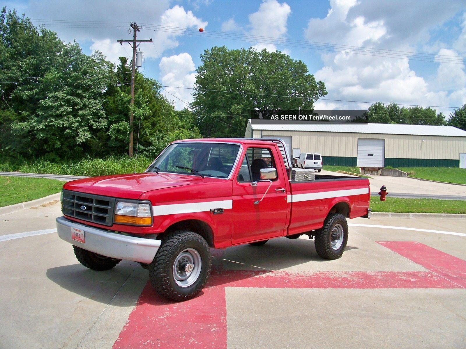 1996 ford f 250 xl standard cab pickup 2 door 5 0l. Black Bedroom Furniture Sets. Home Design Ideas