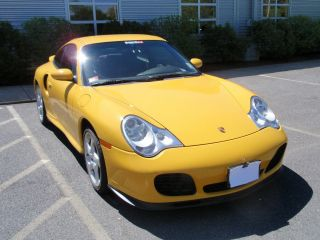 2003 Porsche 911 Turbo Coupe 2 - Door 3.  6l With X50 - Package photo