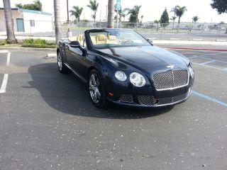 2012 Bentley Continental Gt Convertible Gtc photo