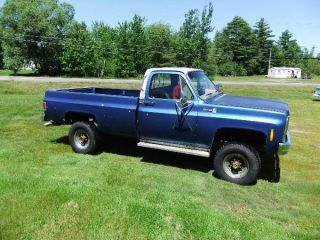 1979 Chevy 3 / 4 Ton Silverado 2500 Camper Special photo