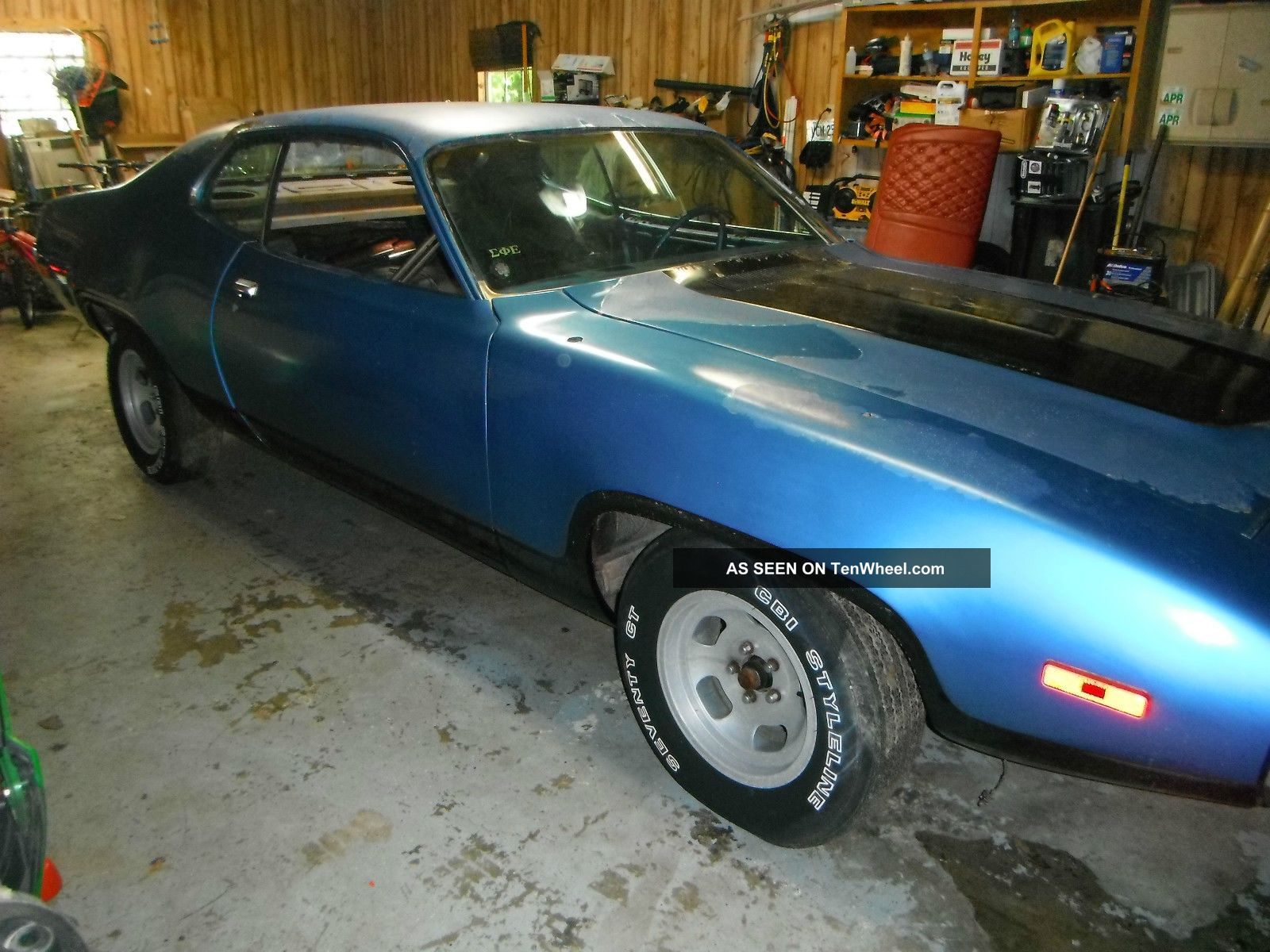 1972 Plymouth Satellite / Roadrunner Clone Project,  Big Block H.  P.  Motor,  Ps,  Pdb Satellite photo