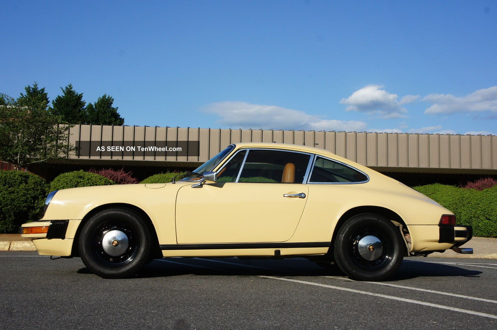 1976 Porsche 912e In Excellent Cond 1 Of 2092 Made; 1 Of 10 In Talbot Yellow 912 photo