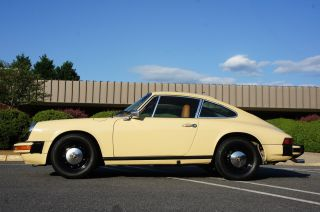 1976 Porsche 912e In Excellent Cond 1 Of 2092 Made; 1 Of 10 In Talbot Yellow photo