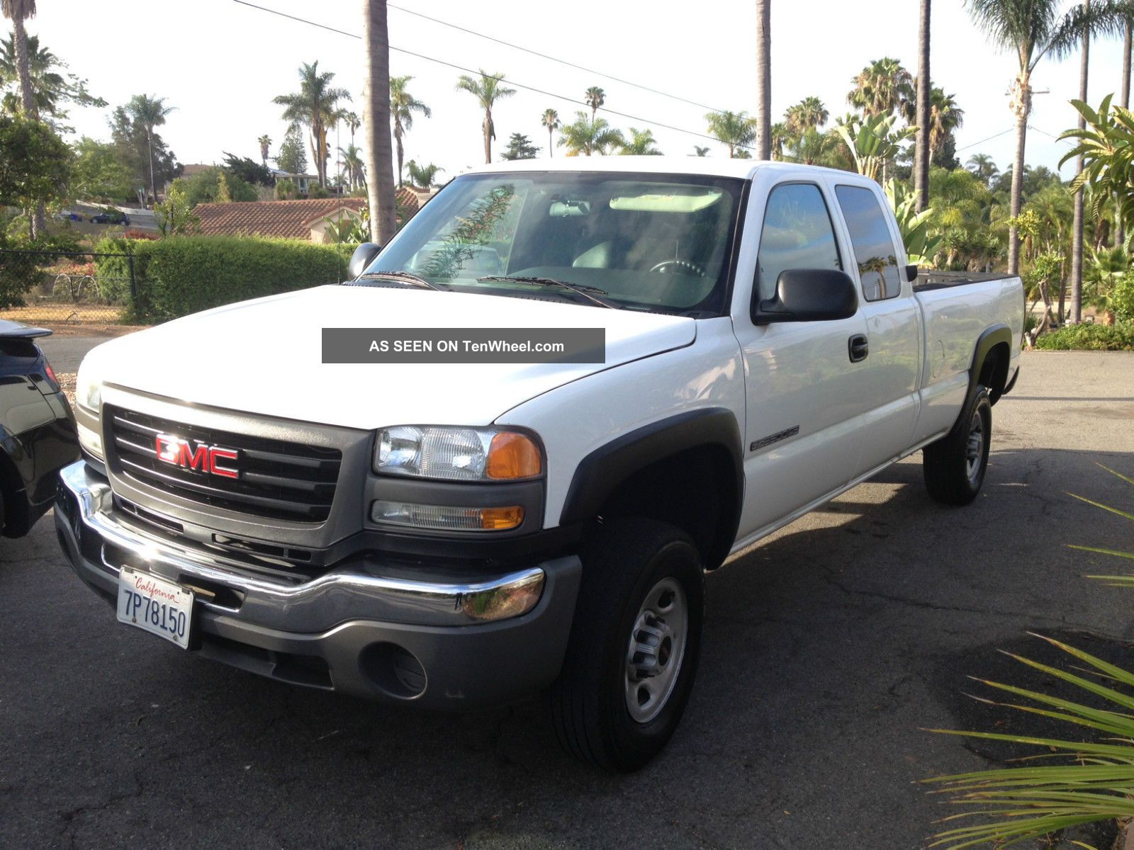 2004 Gmc Sierra 2500 Hd Wt Extended Cab Pickup 4 - Door 6.  0l Sierra 2500 photo