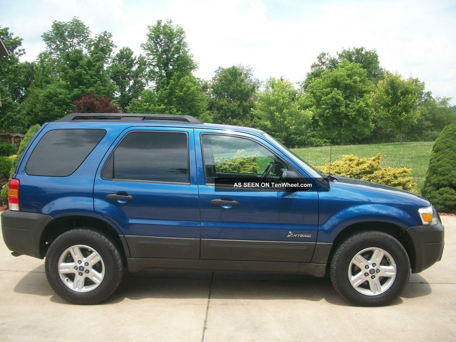 2007 ford escape hybrid 4 wheel drive. Black Bedroom Furniture Sets. Home Design Ideas