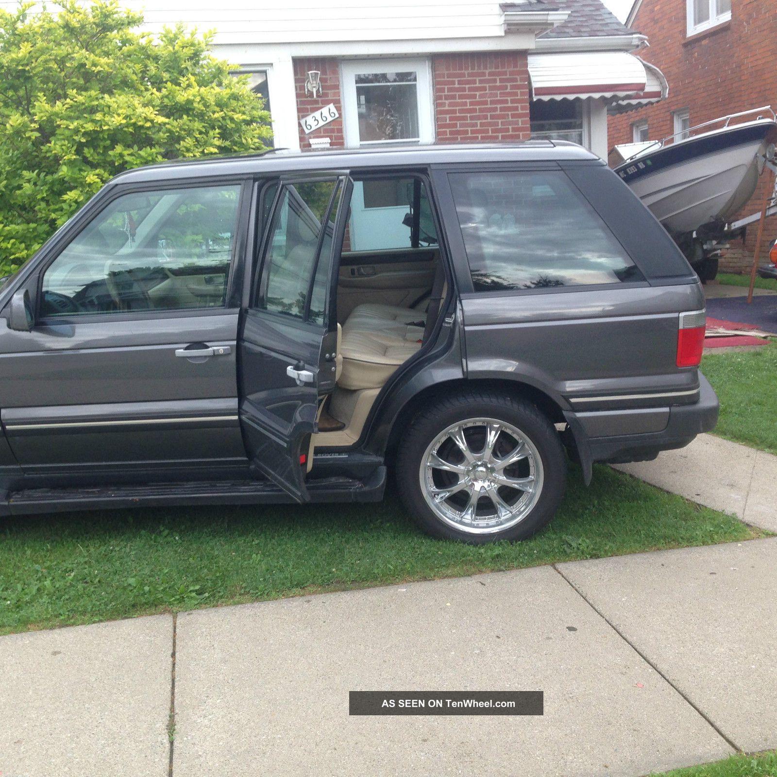 2002 Land Rover Range Rover Interior: 2002 Land Rover Range Rover Hse Sport Utility 4