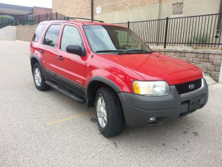 2002 Ford Escape Xlt Sport Utility 4 - Door 3.  0l photo