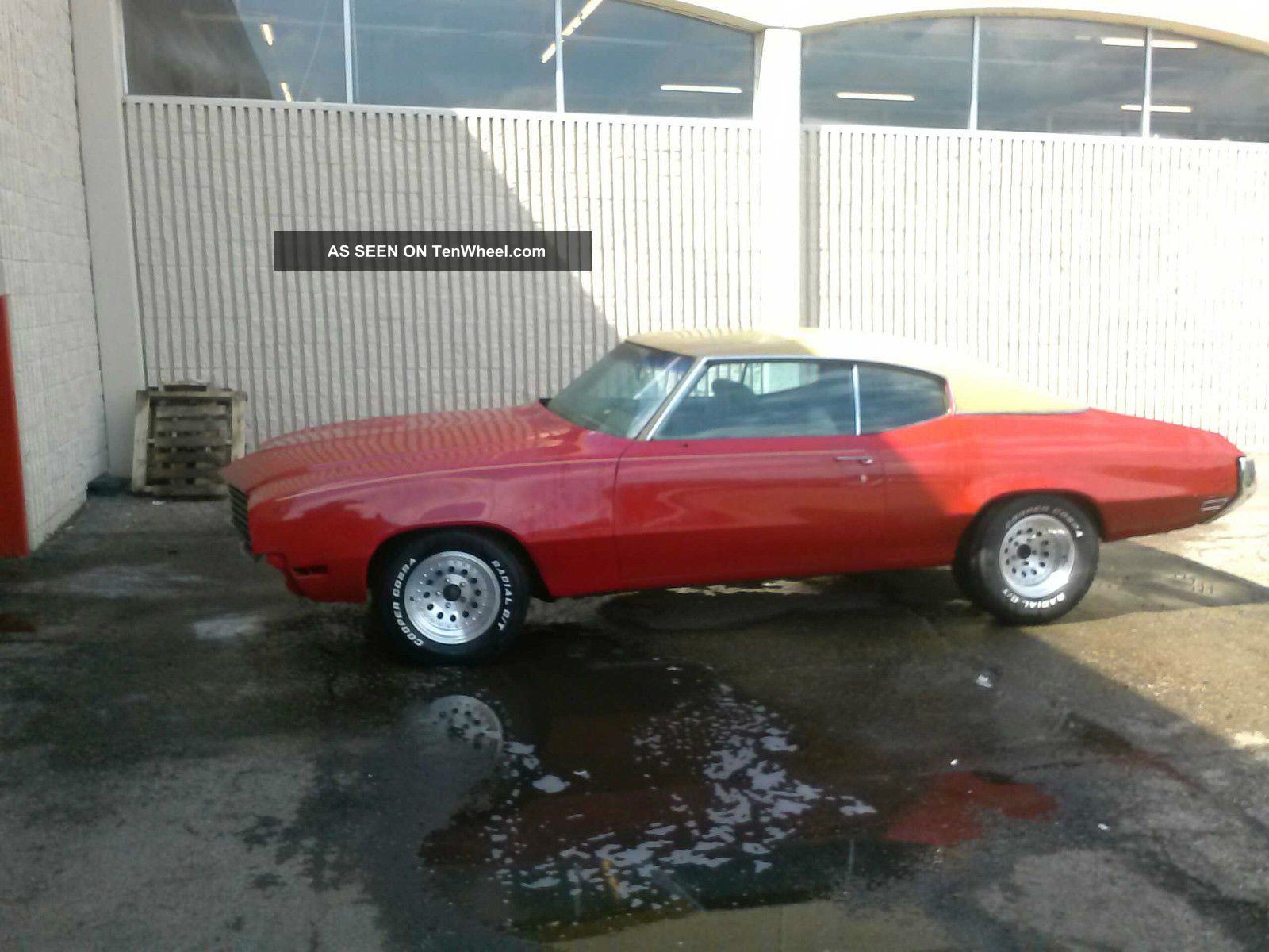 1971 Buick Skylark Base Coupe 2 - Door 5.  7l Skylark photo