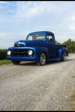 1952 F1 F100 Traditional Hot Rod V8 1953 1954 1955 1956 Ford Classic Rat Rod photo