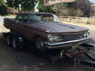 1960 Pontiac Bonneville 4 Door Hardtop A / C Car,  Rat Rod,  Patina,  Low Rod,  Project,  Gm photo