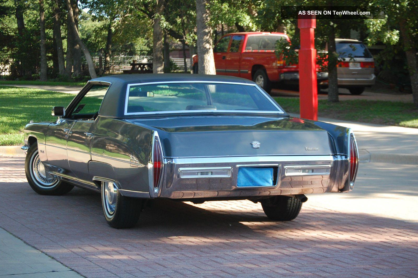 1971 Cadillac Sedan Deville Hardtop DeVille photo