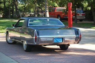 1971 Cadillac Sedan Deville Hardtop photo