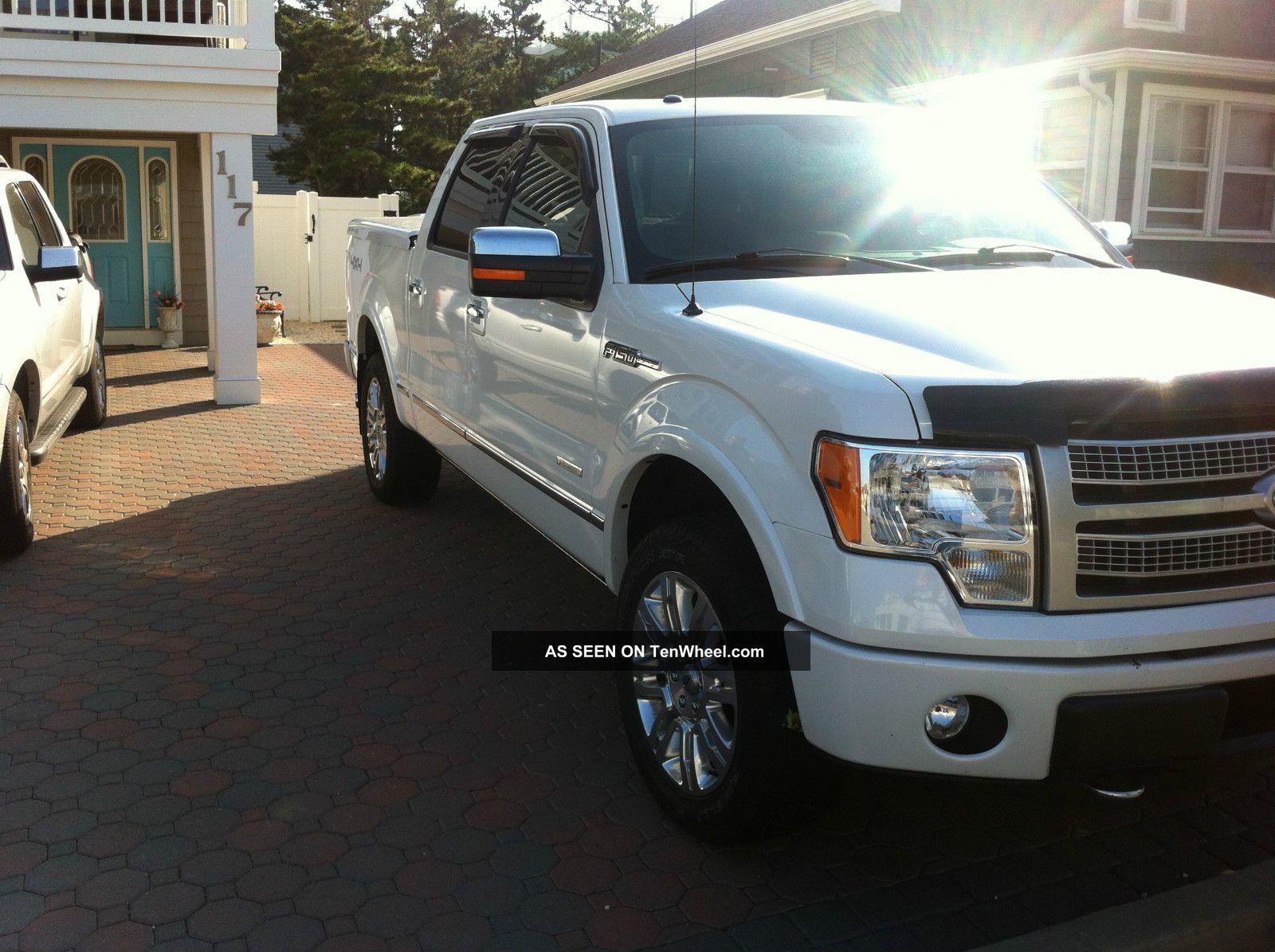 2012 ford f 150 platinum crew cab pickup 4 door 3 5l. Black Bedroom Furniture Sets. Home Design Ideas