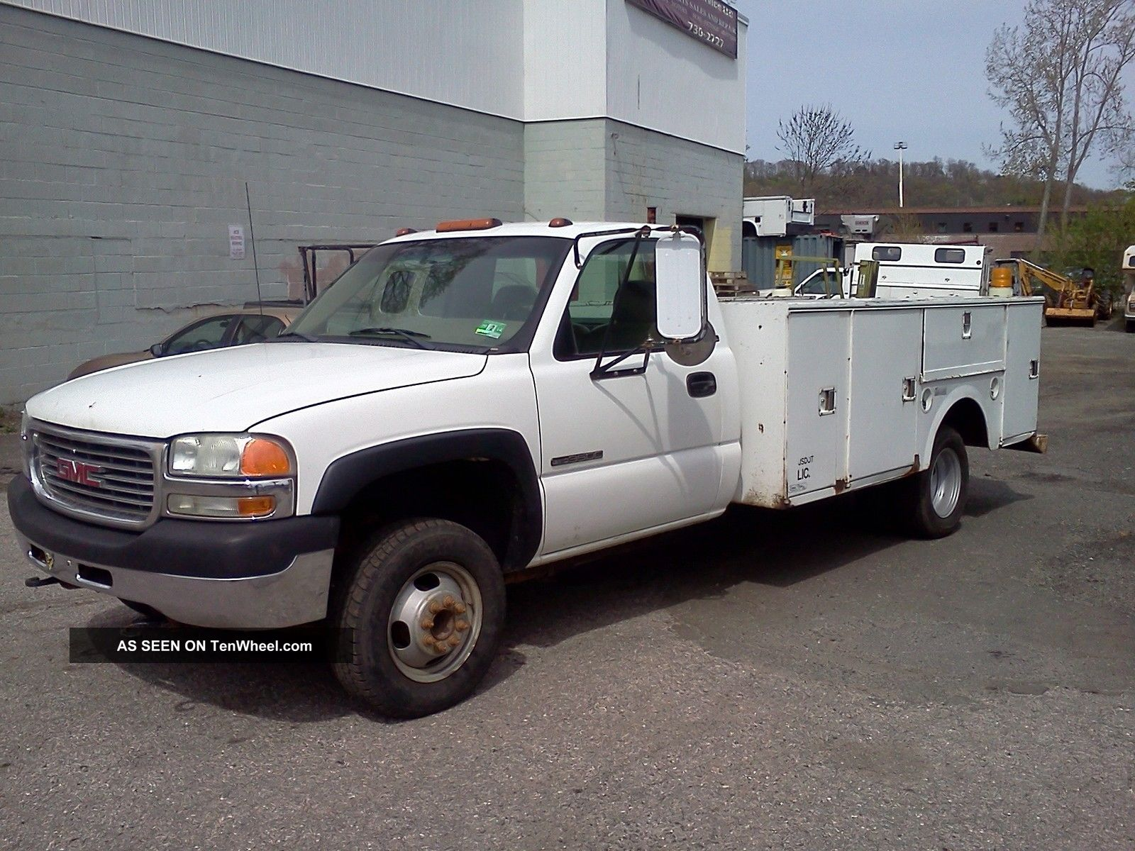 2001 Gmc 3500 Service Truck Sierra 3500 photo